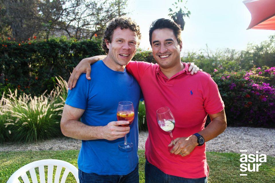 Jorge O'Hara y Nacho Rojas