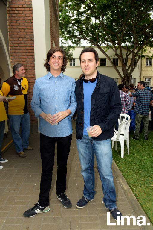 Jose Bernales y Juan Carlos del Busto