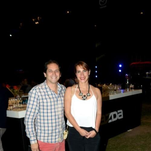 Jose Carlos Canales y Vanesa Heraud.