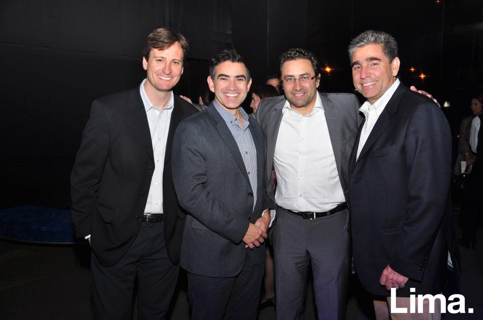 Jose Tomas Hevia, Gabriel González, Ivo Scheggia y Alejandro Irigoyen