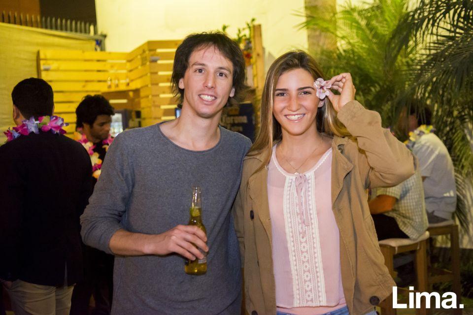 Juan Carlos Gonzales y María Belén Bazo
