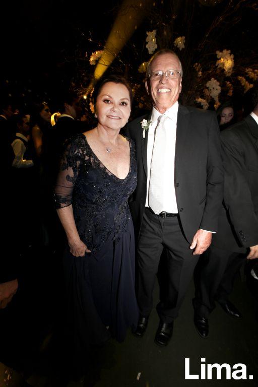 Rosario Alarco y Juan Samanez