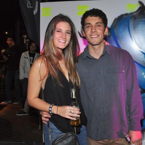 Leighann Cohen y Nicolás Cateriano