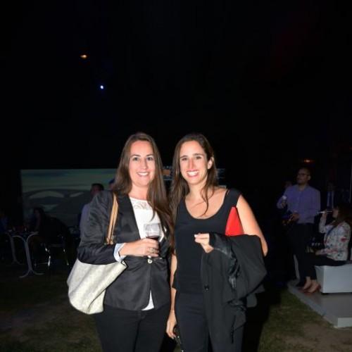 Leonor D'Angelo y Ximena Goyburu.