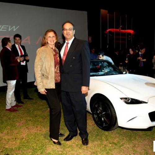 Mónica Delgado  y Hans Berger.