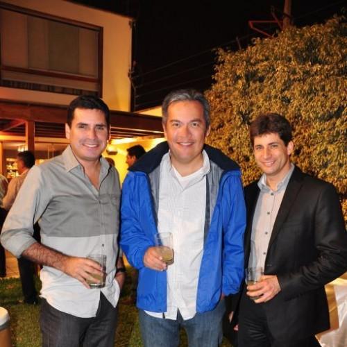 Manuel Cárdenas, Carlos Escudero y Eduardo Balbin