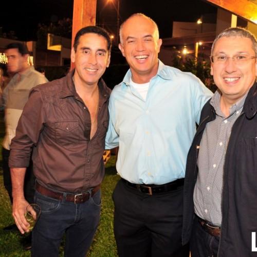 Manuel van Oordt, Juan Freire y Francisco Osores