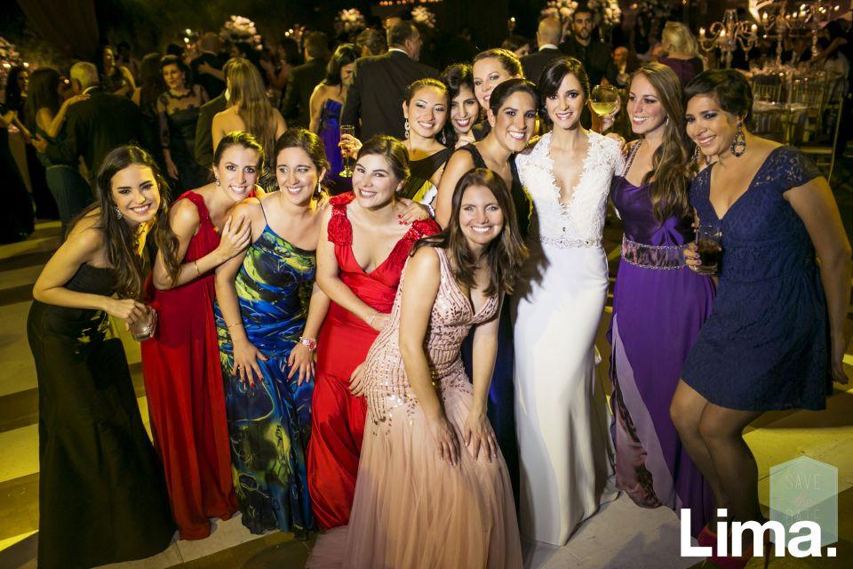 María Teresa Marroquín, Barbie Boisset, Silvana Gratta, Gianna Orlanidini, Ericka Orrego, Mónica Taboada, Anahí Muñoz, Nicole Bazo, Desiree Alayza y Grazia Rojas.