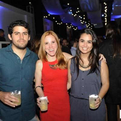Marco Santoro, Suzane Topha y Alejandra Tamayo