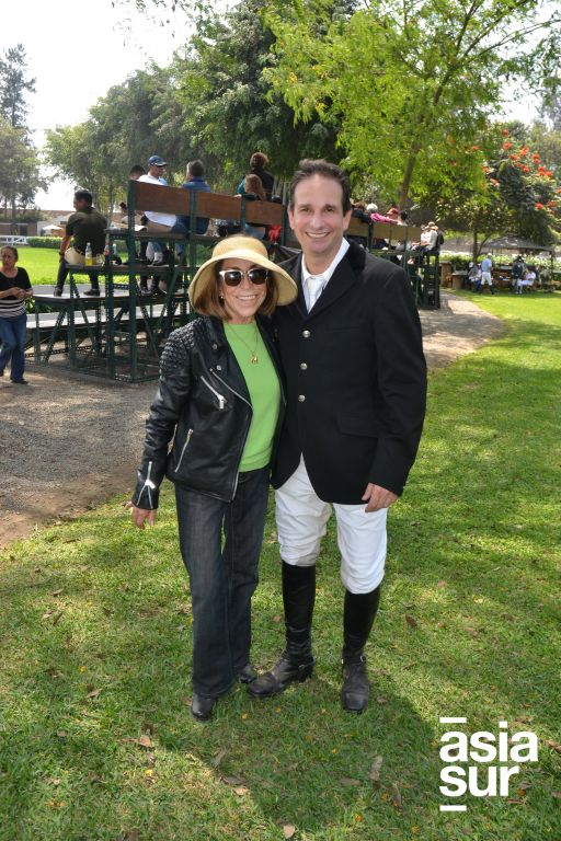 Margarita Rizo Patrón y Freddy Salomon