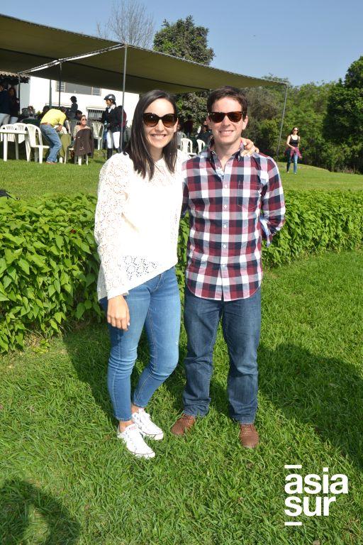 Maria Claudia Morán y Paul Eidson