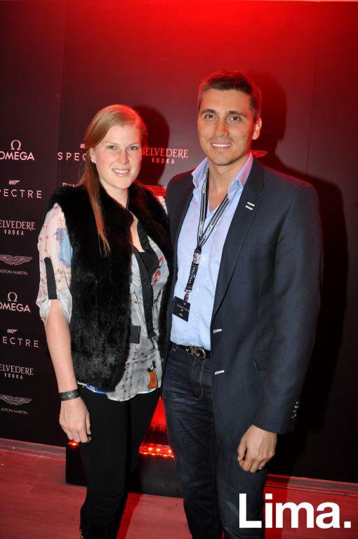 Maricel Ballester y Manuel del Castillo