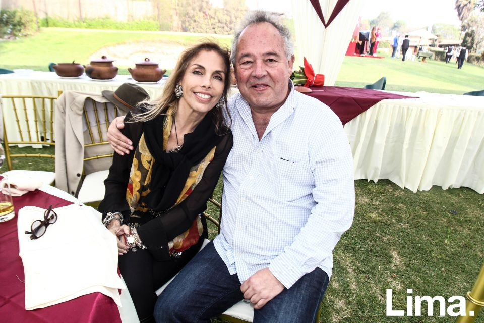 Marilú Vignati y Fernando Rodríguez-Larraín