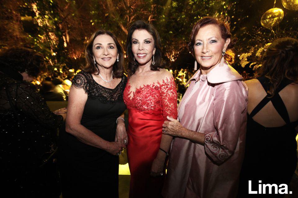 Marilú Madueño, Melissa León de Peralta y Marisa Guiulfo