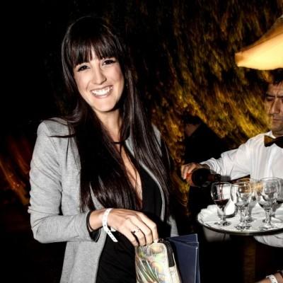 Micha Salazar en fiesta Tommy Hilfigher, Club El Polo.