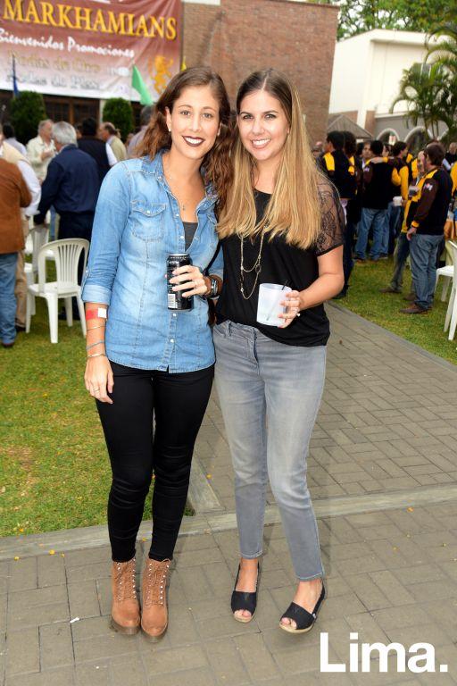 Natalia Romero y Andrea Pedraza