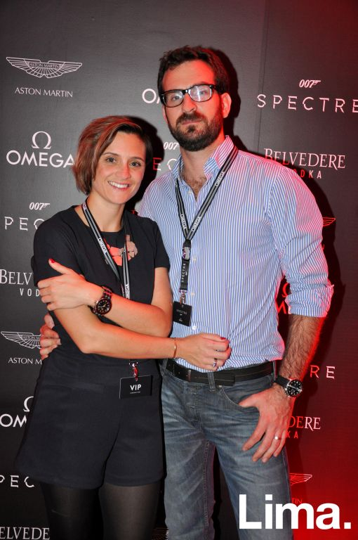 Natalie Bourchier y Jorge Corpancho