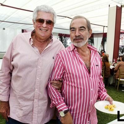 Nicolás Boza y Alfonso Estremadoyro