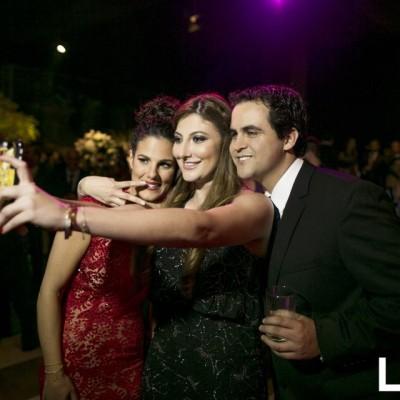Nicole Simon, Denisse Zaidan y Fernando Garay