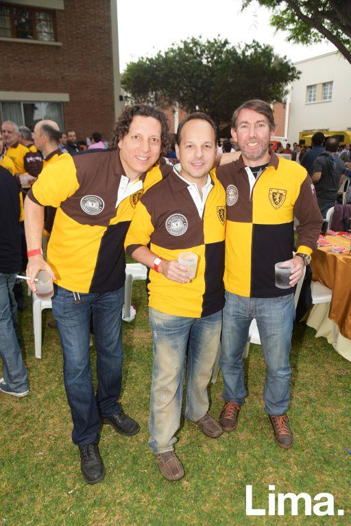 Oscar Osterling, Diego Prado y Diego Angulo