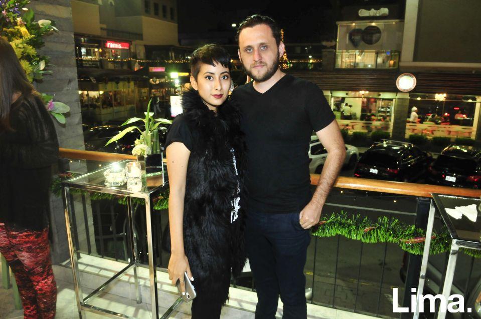 Priscila Gomez Solari y Marcos Peccia