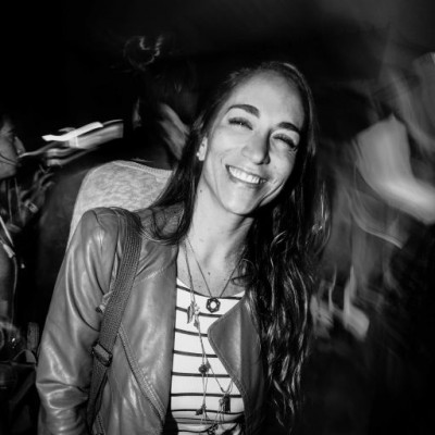 Paloma Pacheco Gatjens  en fiesta Hoodz, El Callao.