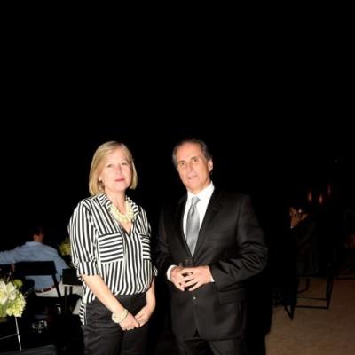 Pamela Gray y Jorge Espinosa.