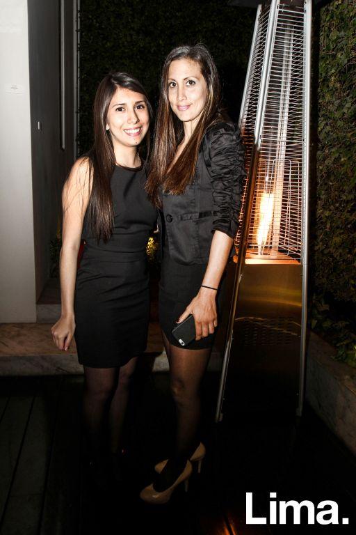 Pamela Hinostroza y Marcia Ruiz