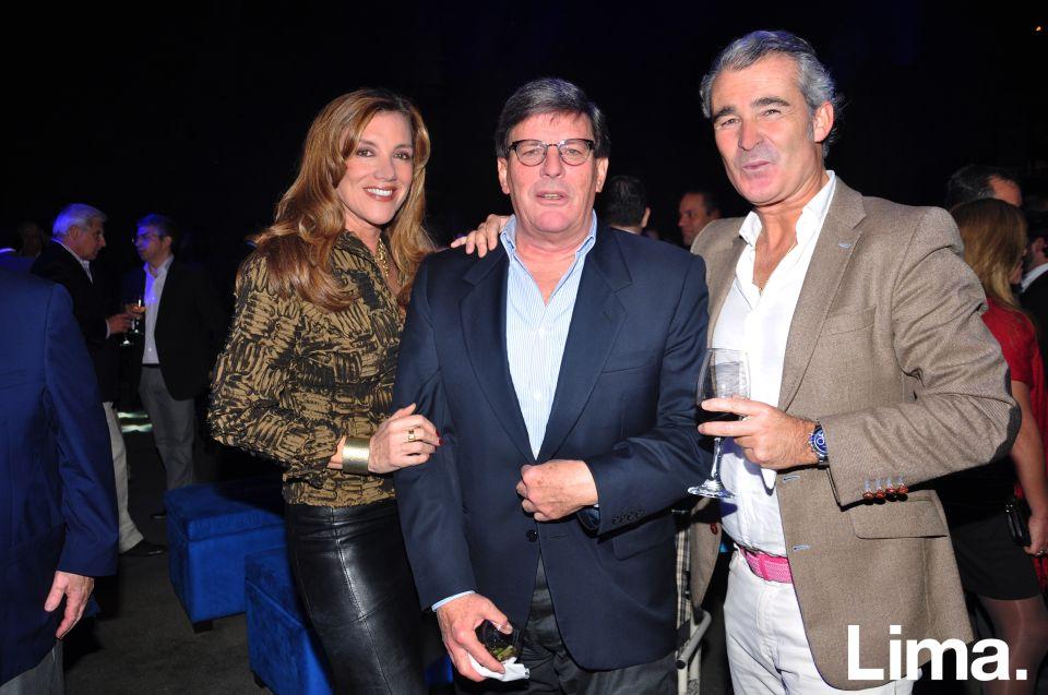 Patricia Delgado Cafferata, Rafael Rey y Rafael Arce