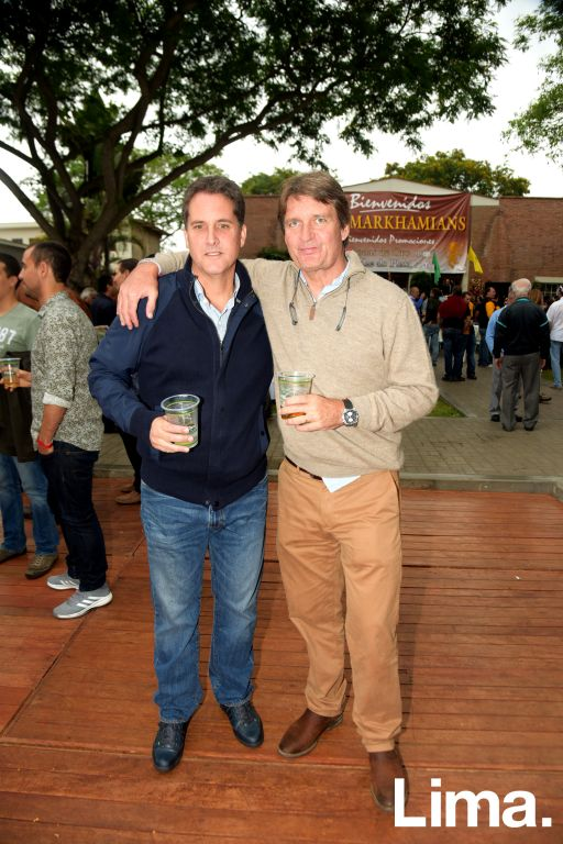Patrick Petch y Billy Fry