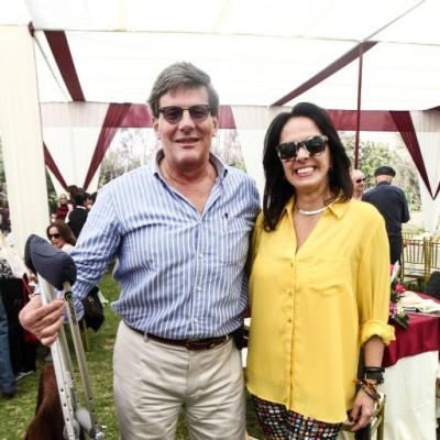 Rafael Rey y Cristiana Cauduro