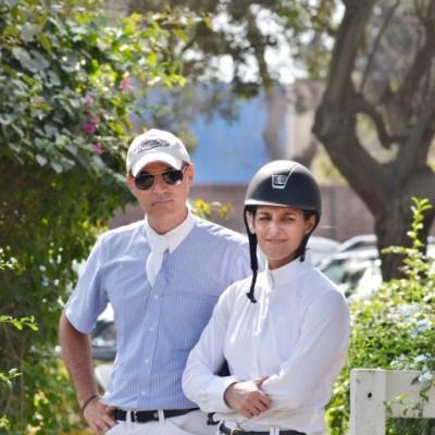 Ricardo Fernández y Maria Paz Gastañeta