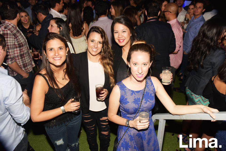 Rocío Reyes, Chio Tregear, Joudi Loo y Erika Bagleti