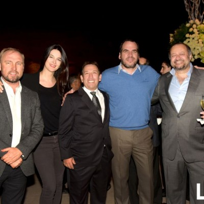 Viktor Kompanichenko, Inés Gierke, Flavio Velarde, Jack Gomberoff y Guillermo Mendoza