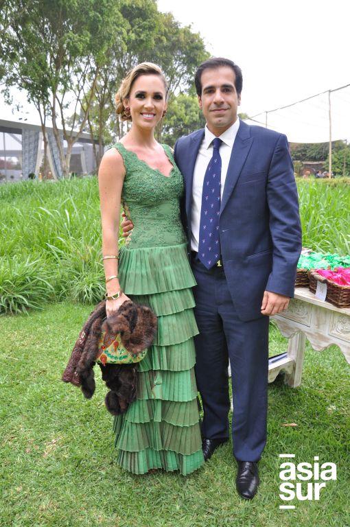 Cristina Aspíllaga y Enrique Páez