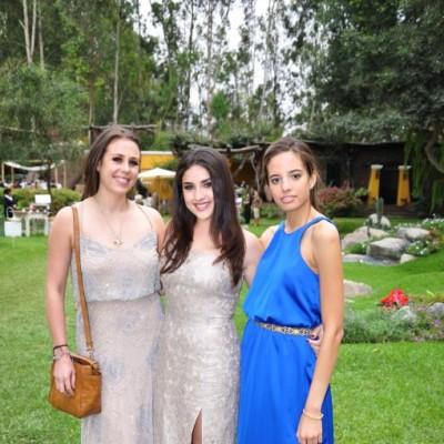 Gabriela Osterling, Maria José Vizcarra y Valeria Cavigiolo