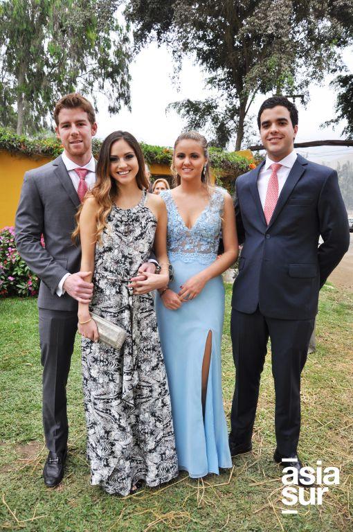 Mauricio Arbulú, Alejandra Gonzales-Daly, Maria Alejandra Altet y Marcelo Brignardello