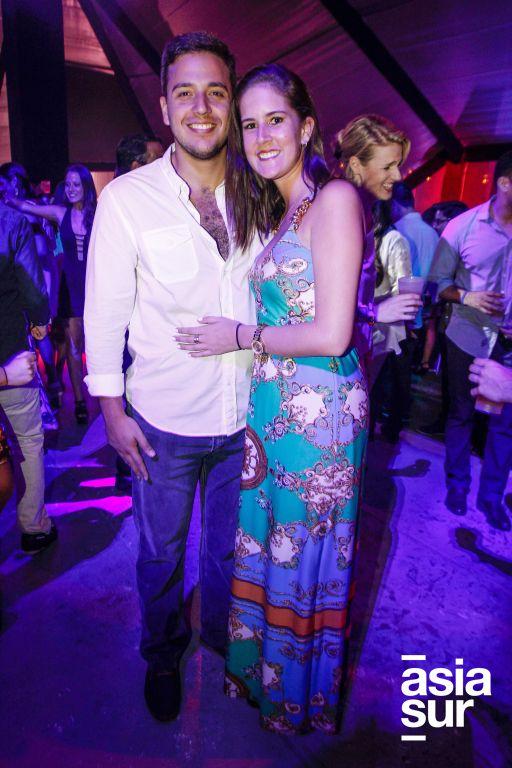 Alejandro Bellatin y Thalia Maxera