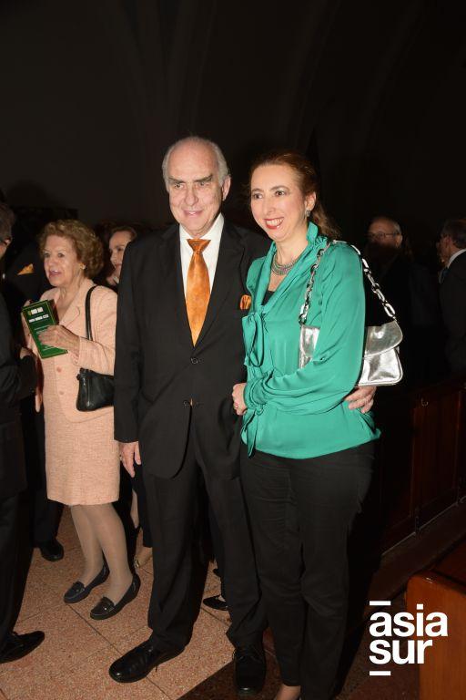 Alfredo Arosemena y Fátima Arosemena