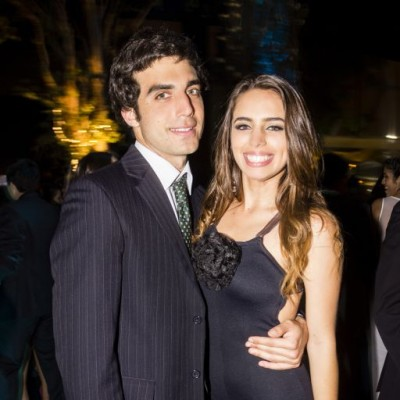 Alvaro Barclay y Luciana Leon-Barandiaran