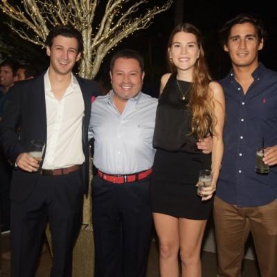 Andé Schnyder, Raúl Alta Torre, Tiziana Herrera y Gerardo Padilles