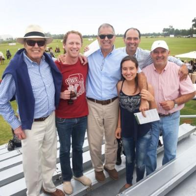 Antenor Rizo Patrón, Manuel Rizo Patrón, Ricardo Peschiera, Antonella Peschiera, Rodrigo Peschiera y Gonzalo Peschiera