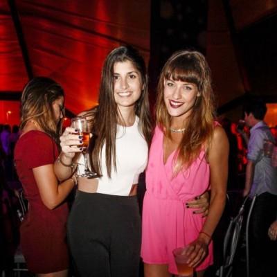 Camila Cornejo y  Stefanía Noriega.