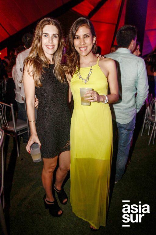 Antonella Brazzini y Claudia Pinto.