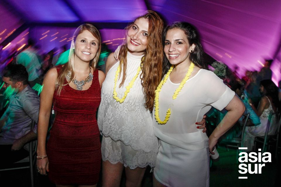 Michelle Drinot, Denisse Zaidan y Claire Mitre
