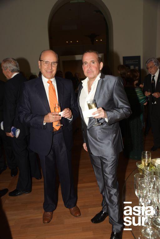 Dennis Ferguson y Jaime Cilloniz