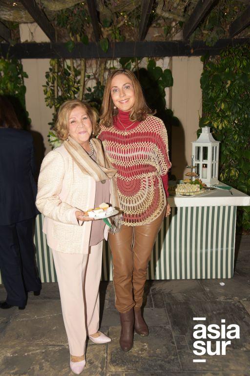 Dora Hermosa y Rocío Tudela
