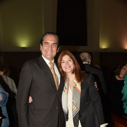 Eduardo Montenegro y Jennifer Montori