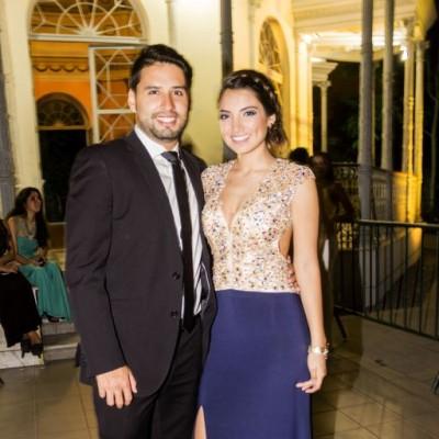 Efraín Salas y Viviann Tello