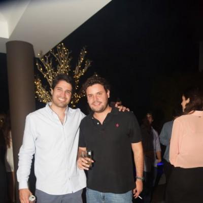 Gonzalo Eguren  y Angel Ibárcena